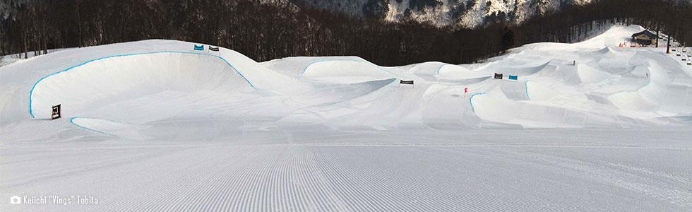HAPPO BANKS THE SNOWPARK