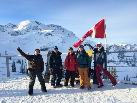 """ EARLY SESSION in Whistler Blackcomb "" Report"