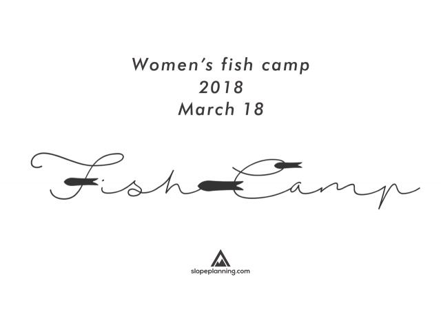 WOMEN'S FISH CAMP 2018 開催のお知らせ