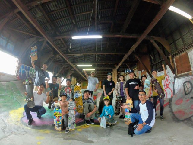 """SKATE SESSION WITH HASSY"" 最高のSESSIONでした!!"