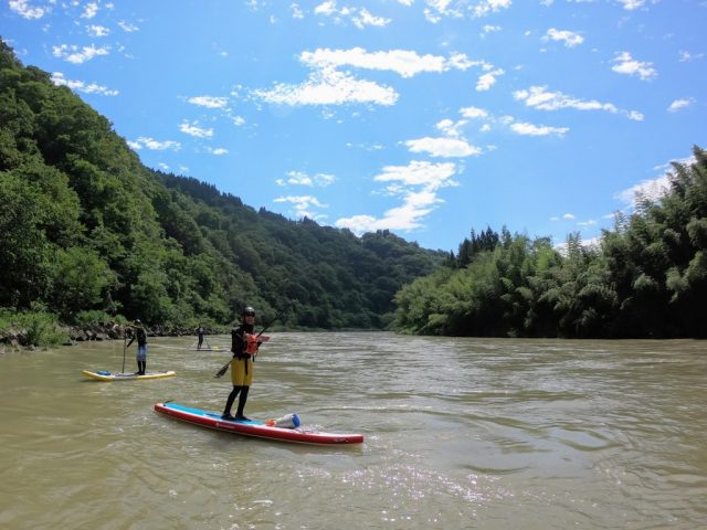 "一滴 Paddle & Mountain Guide × SLOPE PLANNING ""RIVER SUP TOUR"""
